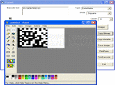 Screenshot of Active 2D Barcode Component - DataMatrix - ActiveX - V7.1
