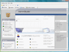 Captura de tela deAdminStudio - Professional - 2014