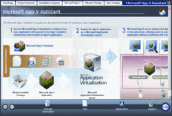 Schermata di AdminStudio with Virtualization Pack - Standard - 2013 R2
