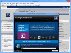 Screenshot of InstallShield - Professional - 2014
