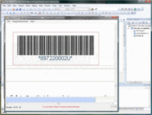 Screenshot of GdPicture.NET 1D Barcode Recognition Plugin - Plugin - 10.2