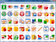 Screenshot of Grafile Business Bonus Pack - Icons - 2012