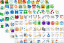 Screenshot of Grafile Complete Icons Pack