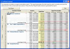Screenshot ofSpread COM - ActiveX/DLL - V8.0