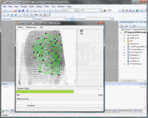 Schermata di Fingerprint SDK - ActiveX (OCX) / DLL / Java / .NET - 2009 R21