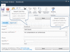 Screenshot of Smart List Pro - Add-In - 1.15.4
