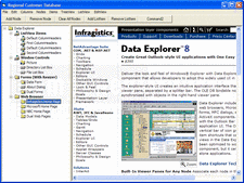 Screenshot of Data Explorer - ActiveX - V8.0