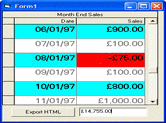 Screenshot of Data Widgets - ActiveX - V3.1
