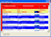 Data Widgets - ActiveX - V3.1의 스크린샷