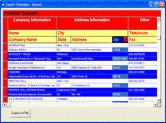 Screenshot of Data Widgets - ActiveX - V3.1
