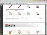 Screenshot of NetAdvantage ICONS - Legal Pack - V1.0