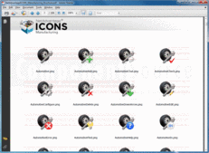 Screenshot of NetAdvantage ICONS - Manufacturing Pack - V1.0