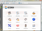 Screenshot of NetAdvantage ICONS - Web & Commerce Pack - V1.0