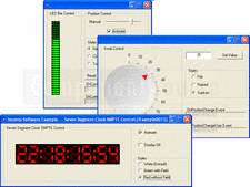 Screenshot of Iocomp ActiveX/VCL Instrumentation Pack - Professional - V4.1.0 SP5