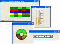Screenshot of Iocomp .NET WinForms Instrumentation Pack - Professional - V4.0