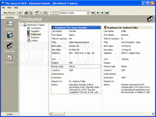 Screenshot of Janus GridEX - ActiveX - 2000b