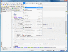 Screenshot of PhpStorm - Application - V8