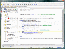 Screenshot of RubyMine - Application - V6.0