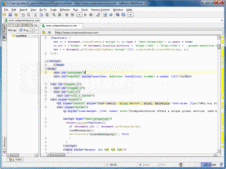 Screenshot of WebStorm - Application - V7.0