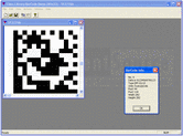 Screenshot of LEADTOOLS 2D Barcode Module - Module - V18