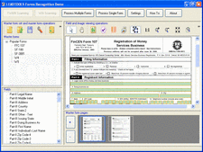 Screenshot of LEADTOOLS Forms Recognition Module - Module - V16.5