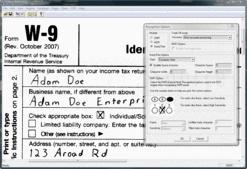 Screenshot ofLEADTOOLS ICR Module - Module - V18