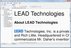 Screenshot of LEADTOOLS Imaging Pro SDK - Runtimes - V18