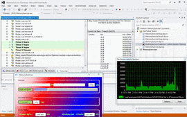 Screenshot of DevPartner for Visual C++ BoundsChecker Suite Web Edition - Application - V11.1
