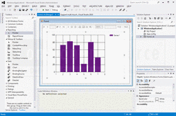 Screenshot of Microsoft Visual Studio - Professional Edition - 2013