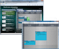 Captura de pantalla MindFusion.Scheduling Pack - .NET - 2013.R1