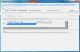 Screenshot of ERP (SAP) Integrator Java Edition - Java - V1