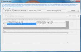 Screenshot ofERP (SAP) Integrator .NET Edition - .NET - V2