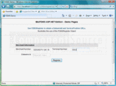 Screenshot of FDMS Integrator - PHP - V3