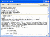 Screenshot of IP*Works! SSL - Java Edition - V9