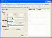 Screenshot of QuickBooks Integrator - .NET Edition - V5.0
