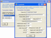 Screenshot of Vital/TSYS Integrator - .NET Edition - V6.0