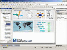 Captura de pantalla Nevron Diagram for .NET - Professional - 2012.1 (Build 12.10.24.12)