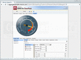 Captura de pantalla Nevron Gauge for SharePoint - Web Part - 2014.1 (Build 14.6.25.12)