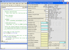 Screenshot of Timesaver:TaxCalc ActiveX DLL - ActiveX DLL - V1.2.5