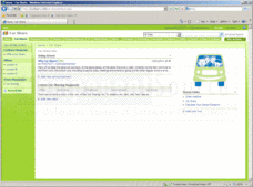 Screenshot of ActionSharePoint Car Share Templates for SharePoint  - SharePoint Template - for 2007 and 2010