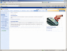 Screenshot of ActionSharePoint Purchasing Templates for SharePoint  - SharePoint Template - for 2007 and 2010