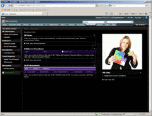 Screenshot of ActionSharePoint Reception Templates for SharePoint  - SharePoint Template - for 2007 and 2010