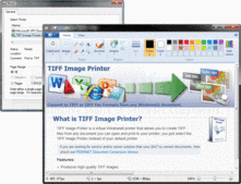 Screenshot of TIFF Image Printer - Print Driver - 10.0.006