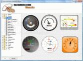 Screenshot of SharpShooter Gauges - Win - 7.0.1