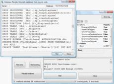 Bildschirmabzug vonSQL Schema Sync API - Professional Edition - 1.0