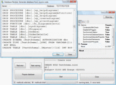 Screenshot of SQL Schema Sync API - Standard Edition - 1.0