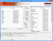 Screenshot of Rebex Total Pack - .NET/.NET Compact Framework - 2012