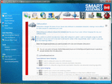 Screenshot of SmartAssembly - Standard - 6.7