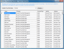 Captura de tela de PowerShell Data Provider for ADO.NET from RSSBus - .NET - V1