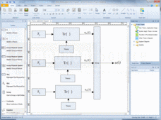 Screenshot of Interactive Project Modeling - Application - 2013